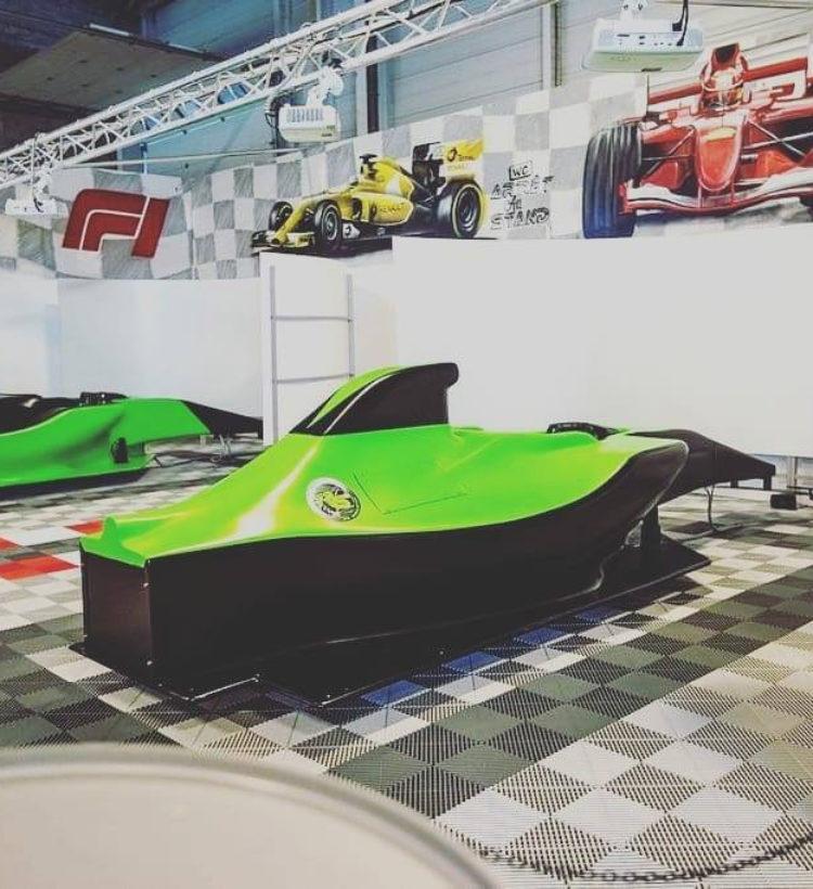 simulateur f1 concept franchise