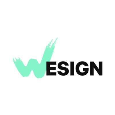 logotype wesign lettering square512